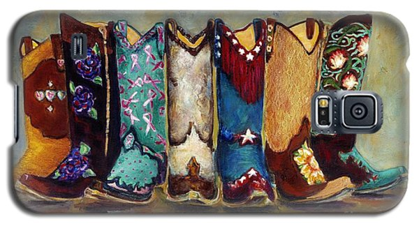 Cowgirls Kickin The Blues Galaxy S5 Case