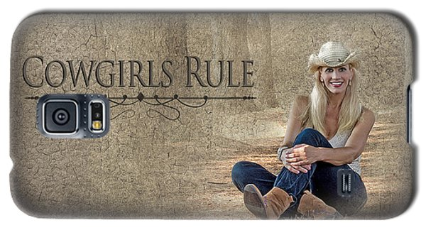 Cowgirls Rule Galaxy S5 Case