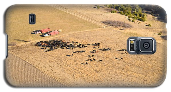 Cows And Trucks Galaxy S5 Case