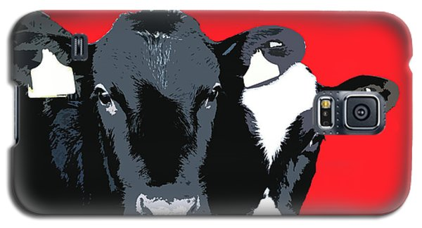 Cows - Red Galaxy S5 Case