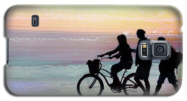 Cox Bay Bike Galaxy S5 Case