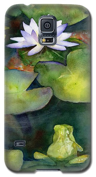 Lily Galaxy S5 Case - Coy Koi by Amy Kirkpatrick
