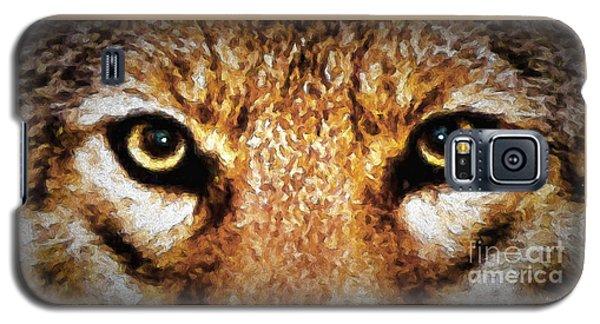 Cyote Eyes Galaxy S5 Case by Adam Olsen