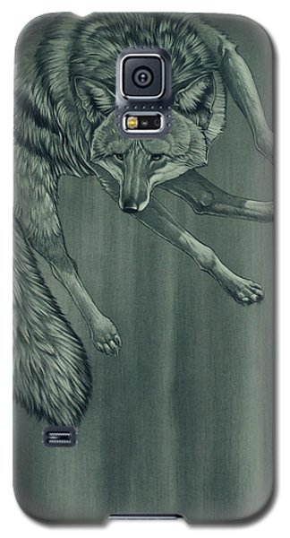 Galaxy S5 Case featuring the digital art Coyote by Aaron Blaise