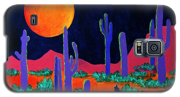 Coyote Moon Galaxy S5 Case by Jeanette French