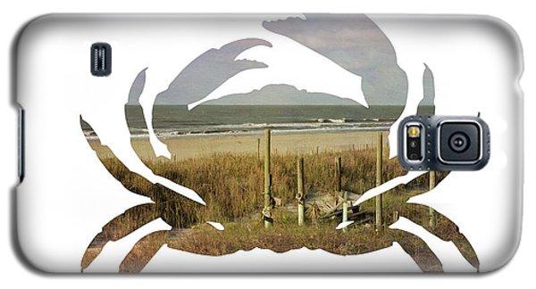 Crab Beach Galaxy S5 Case