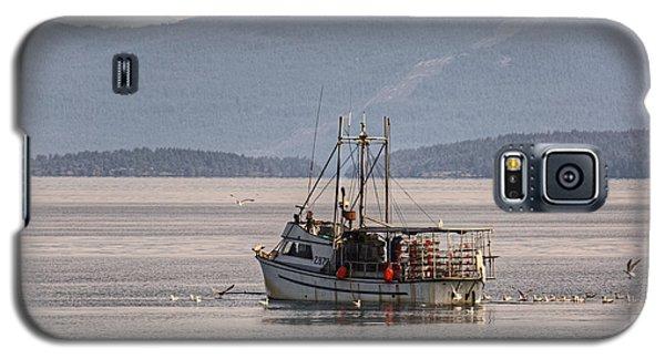 Crabbing Galaxy S5 Case by Randy Hall