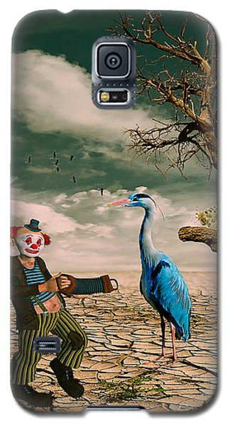 Cracked IIi - The Clown Galaxy S5 Case