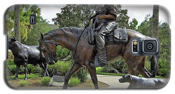Cracker Cowboy And His Dog Galaxy S5 Case