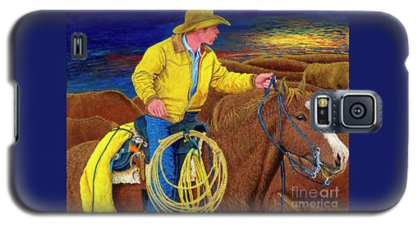 Cracker Cowboy Sunrise Galaxy S5 Case