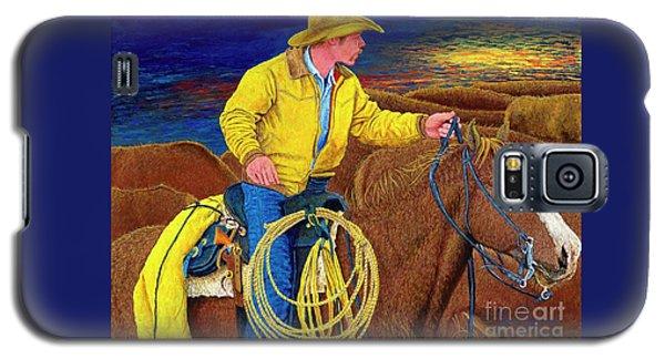 Cracker Cowboy Sunrise Galaxy S5 Case