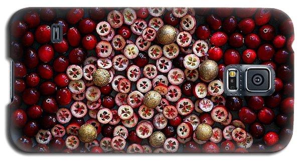 Cranberry Christmas Tree Galaxy S5 Case