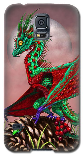 Cranberry Dragon Galaxy S5 Case