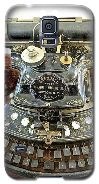 Crandall Type Writer 1893 Galaxy S5 Case