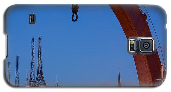 Cranes, Bristol Harbour Galaxy S5 Case