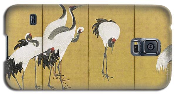 Cranes Galaxy S5 Case by Maruyama Okyo