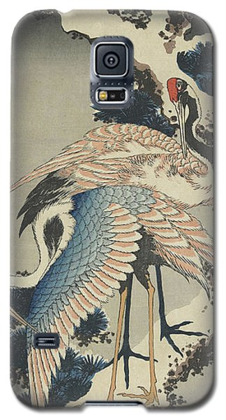 Cranes On Pine Galaxy S5 Case