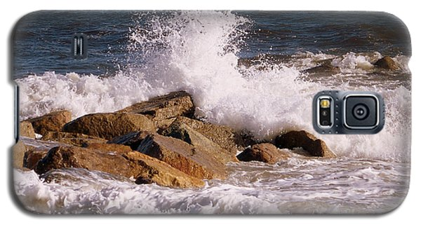 Crashing Surf On Plum Island Galaxy S5 Case