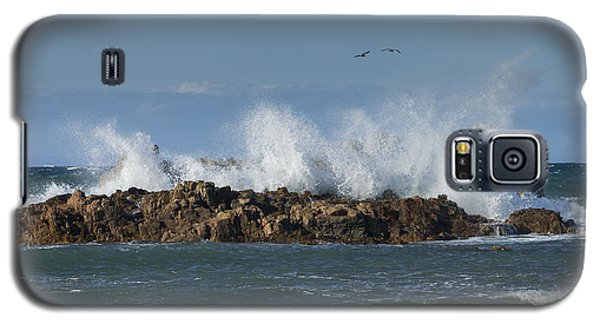 Crashing Waves And Gulls Galaxy S5 Case