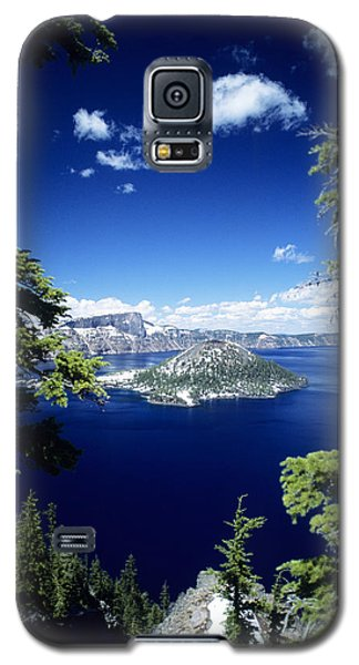 Crater Lake Galaxy S5 Case by Allan Seiden - Printscapes