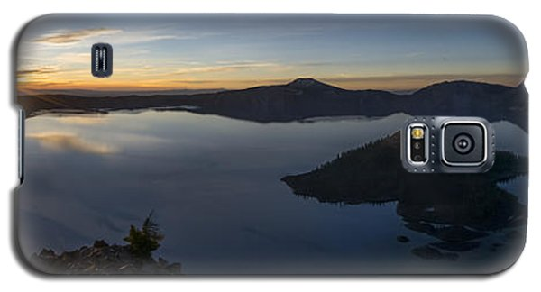 Crater Lake At Sunrise Galaxy S5 Case