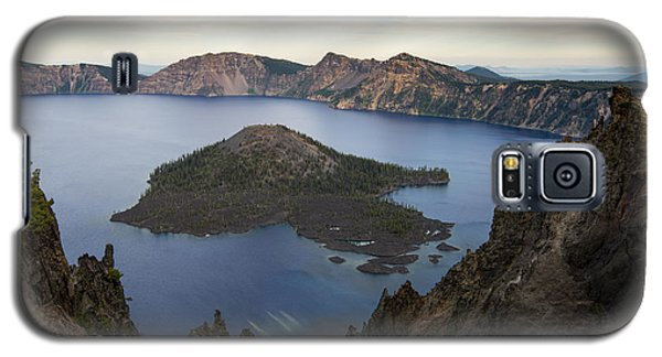 Crater Lake At Sunset Galaxy S5 Case