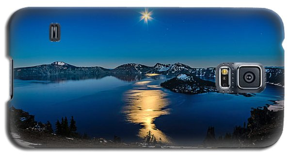 Crater Lake Moonlight Galaxy S5 Case