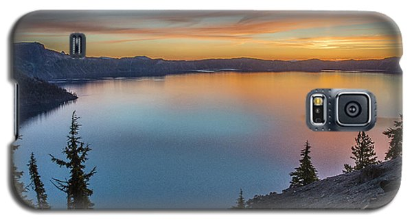 Crater Lake Morning No. 1 Galaxy S5 Case