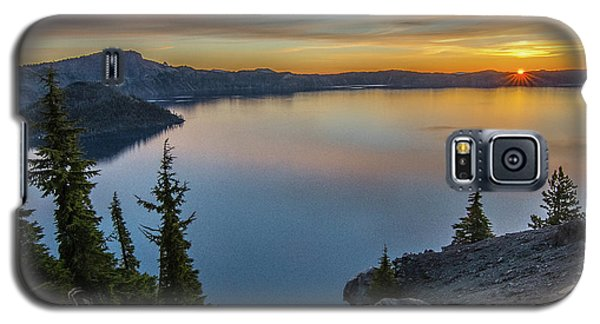 Crater Lake Morning No. 2 Galaxy S5 Case