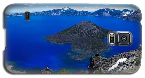Crater Lake National Park Panoramic Galaxy S5 Case