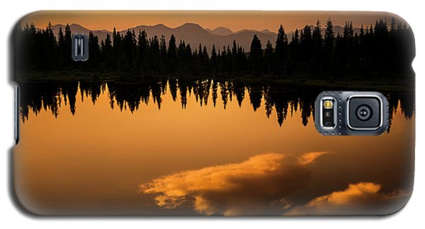 Crater Lake Sunset Galaxy S5 Case