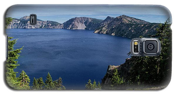 Galaxy S5 Case featuring the photograph Crater Lake View by Frank Wilson