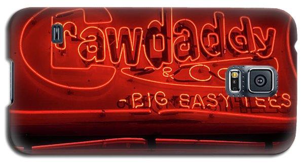 Craw Daddy Neon Sign Galaxy S5 Case by Steven Spak