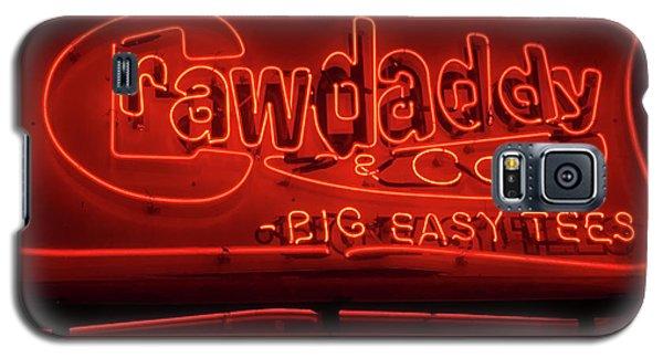 Craw Daddy Neon Sign Galaxy S5 Case