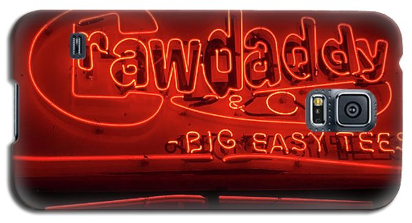 Craw Daddy Neon Sign Galaxy S5 Case