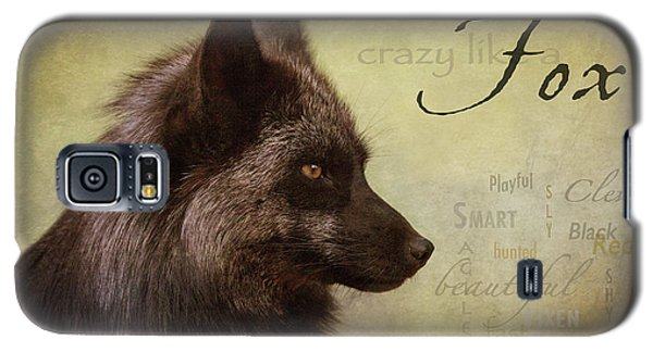 Crazy Like A Fox Galaxy S5 Case