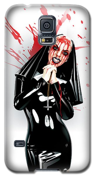 Crazy Nun Galaxy S5 Case