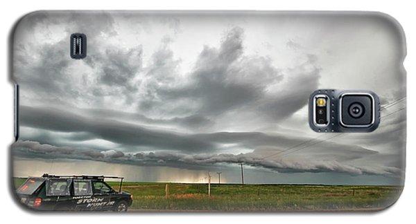 Crazy Shelf Cloud Near Ponteix Sk. Galaxy S5 Case by Ryan Crouse