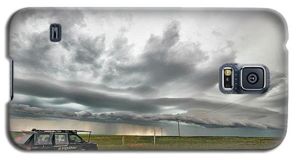 Crazy Shelf Cloud Near Ponteix Sk. Galaxy S5 Case