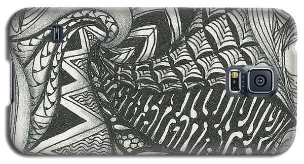 Crazy Spiral Galaxy S5 Case by Jan Steinle