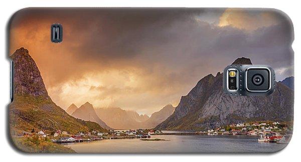 Crazy Sunset In Lofoten Galaxy S5 Case