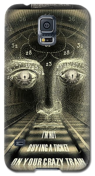 Crazy Train Galaxy S5 Case