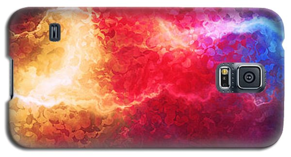 Creation - Abstract Art Galaxy S5 Case
