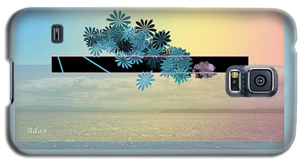 Galaxy S5 Case featuring the photograph Creativity And Awareness In Yoga by Felipe Adan Lerma