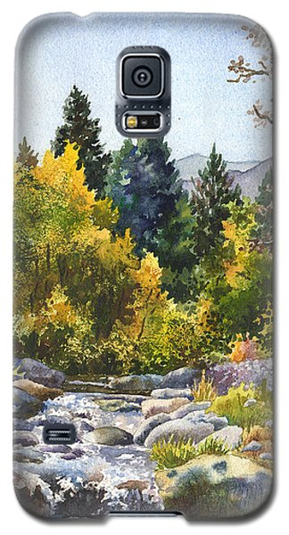 Rocky Galaxy S5 Case - Creek At Caribou by Anne Gifford