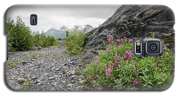 Creek Bed Flowers Galaxy S5 Case