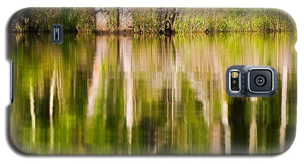 Galaxy S5 Case featuring the photograph Creekside Reflections by Bob Decker