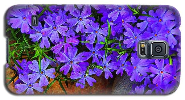Creeping Phlox 1 Galaxy S5 Case by Dennis Lundell