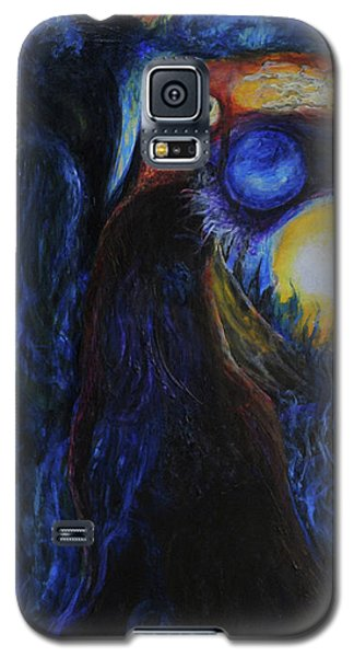 Galaxy S5 Case featuring the painting Creeping Plague by Christophe Ennis