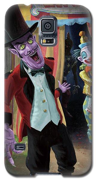 Creepy Circus Galaxy S5 Case